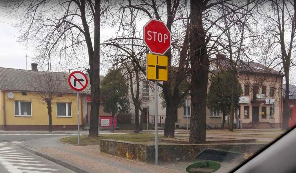 """""""STOP"""" na drodze z pierwszeństwem"""