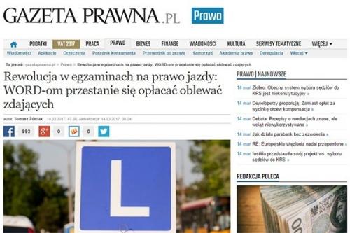 """""""Gazeta Prawna"""" o ustawie, której jeszcze nie ma"""